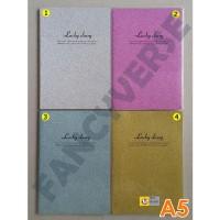 Notebook A5 GB-11025 Gliter / Agenda Diary Notes Buku Catatan