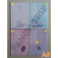 Notebook A5 2588-36 / Agenda Diary Notes Buku Catatan