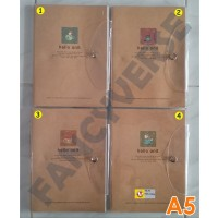 Notebook Kancing A5 HYN-223656 / Agenda Diary Notes Buku Catatan