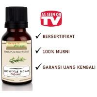 Happy Green ORGANIC Eucalyptus Radiata Essential Oil (10 ml)