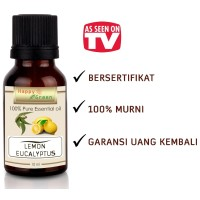 Happy Green Eucalyptus Lemon Essential Oil (10 ml) 100% Murni Natural