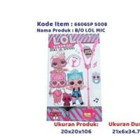 Mainan anak perempuan: microphone karaoke LoL
