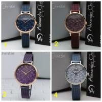 Jam tangan wanita ALEXANDRE CHRISTIE AC 2728 rosegold original