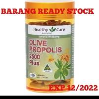 Healthy Care Olive Propolis 2500 Plus isi 180 caps Original