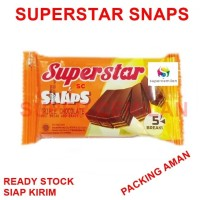 Superstar Snaps Wafer Chocolate - Wafer Cokelat