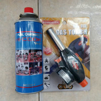 Torch Gas + Gas hi cook