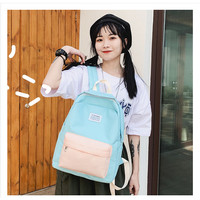 Flyincat Tas Ransel Korea Wanita Korean Fashion school bag Kanvas Back