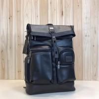 Tas Backpack / Ransel TuM i London Roll Top Leather