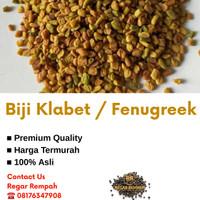 [1 Kg] Fenugreek / Biji Klabet / Methi Seeds / Halba / Hulbah