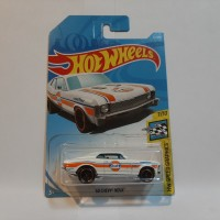 Hot Wheels 68 Chevy Nova Putih Gulf