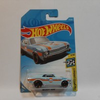 Hot Wheels 68 Chevy Nova Biru Gulf