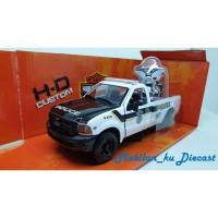 Diecast Ford F-350 Super Duty & Electra Glide Maisto HD 1:24 Police