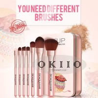 BIOAQUA BRUSH MAKEUP KITS (1SET 7PC) PINK BQY8214