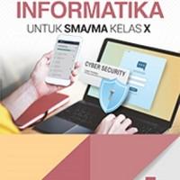 Buku INFORMATIKA SMA KLS 10 Penerbit ERLANGGA