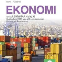 Buku Ekonomi SMA KLS 11 PEMINATAN Penerbit ERLANGGA
