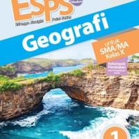 Buku ESPS GEOGRAFI SMA KLS 10 PEMINATAN Penerbit ERLANGGA
