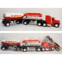 Mainan mobil truck Trailer gandeng Super Truck Trailer MB28