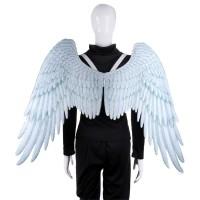 Kostum Cosplay Halloween Bentuk Sayap Malaikat untuk Pria / Wanita