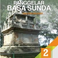 Buku Panggelar basa sunda SMA KLS 11 Penerbit ERLANGGA