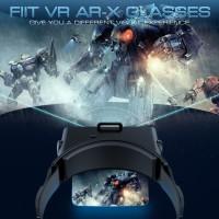 Top For FIit Kacamata VR Virtual Reality 3D untuk Smartphone Android
