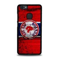 Hardcase Casing Vivo V7 Plus Boston Red Sox Grunge Baseball Clu