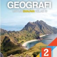 Buku Geografi SMA KLS 11 PEMINATAN Penerbit ERLANGGA