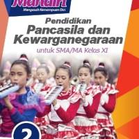 Buku Mandiri PPKN SMA KLS 11 Penerbit ERLANGGA