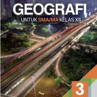Buku Geografi SMA KLS 12 PEMINATAN Penerbit ERLANGGA