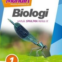 Buku Mandiri Biologi SMA KLS 10 Penerbit ERLANGGA