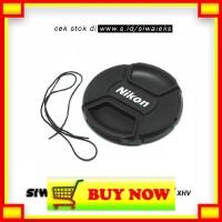 PN118 XHV Penutup Lensa Kamera Nikon Lens Cap 67mm - Black