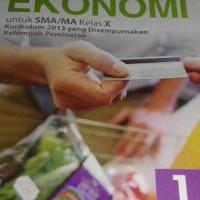 Buku Ekonomi SMA KLS 10 PEMINATAN Penerbit ERLANGGA