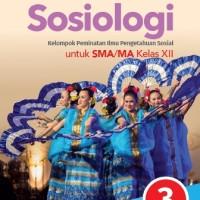 Buku Sosiologi Kun Maryati SMA KLS 12 PEMINATAN Penerbit ERLANGGA