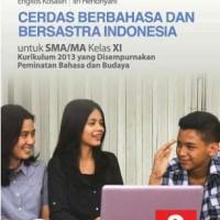 Buku Cerdas Berbahasa Indonesia SMA KLS 11 DIKNAS Penerbit ERLANGGA