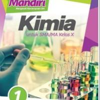 Buku Mandiri KIMIA SMA KLS 10 Penerbit ERLANGGA