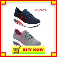 AT786 Sepatu Sneakers Wedges Sodalite SD63-29