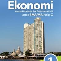 Buku Ekonomi Alam s SMA KLS 10 PEMINATAN Penerbit ERLANGGA