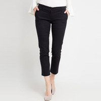 EDITION Woman Basic Trousers Et18 Chino BLACK