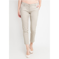 EDITION Woman Basic Trousers Et18 Chino SAND