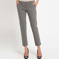 EDITION Woman Basic Trousers Et18 Chino GREY