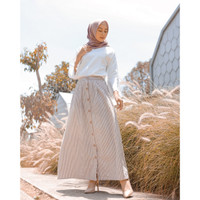 Korean Stripe Skirt