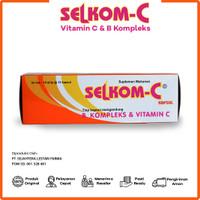 Multivitamin Selkom C - Suplemen Kesehatan 1 Box isi 100 Kapsul