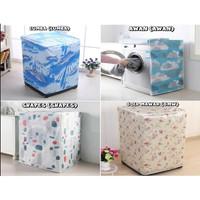 Sarung Cover Mesin Cuci Front Loading 1 Tabung Bukaan Depan Anti Air