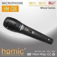 Mic kabel HOMIC HM-138 - Microphone Kabel HM138 -Mikrofon Kabel Murah