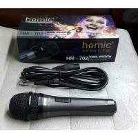 Mic Karaoke Ori HOMIC HM-702 - Microphone HOMIC HM 702 Pengeras Suara