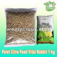 Makanan Kelinci Citra Feed VITAL RABBIT Food 1kg - Pelet Kelinci Murah