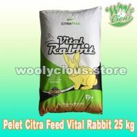 Makanan Kelinci Citra Feed VITAL RABBIT Food 25kg -Pelet Kelinci Murah