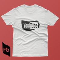 KAOS BAJU PREMIUM | Logo YouTube Splash Art