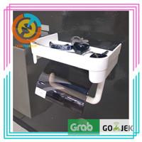 Tempat Tisu Gulung Toilet/ Tissue Roll dan handphone / Gantungan Tissu