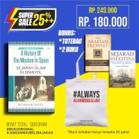 Super Sale Buku Sejarah Islam di Spanyol Free Buku & Totebag