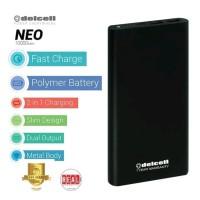POWERBANK DELCELL NEO 10000 MAH REAL CAPACITY
